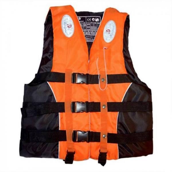 Polyester adult life vest jacket water sports man kids jacket swimming boating ski drifting life vest with whistle m-xxxl sizes