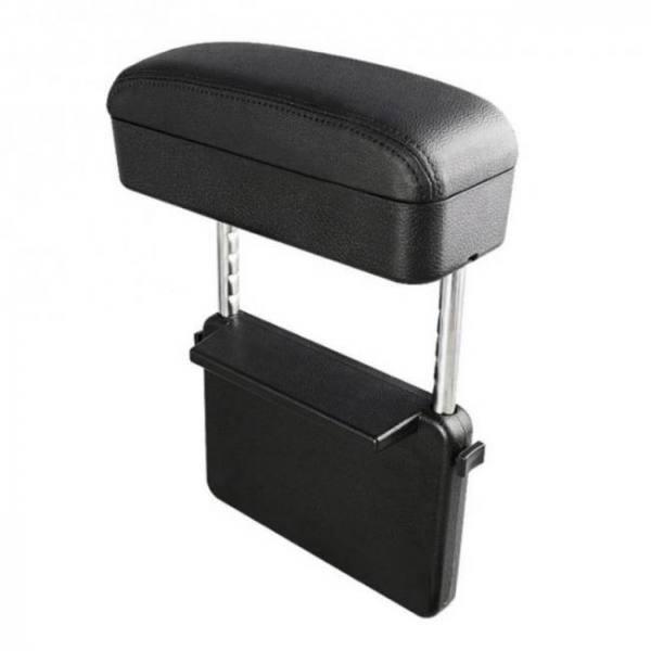 Car armrest storage box adjustable central armrest pad car styling protective armrest box for audi a3 bracciolo auto universale