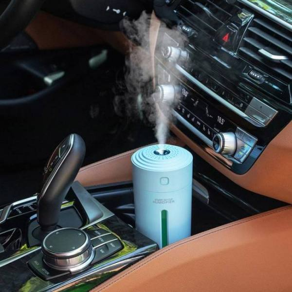 Eloole 280ml air humidifier with battery usb ultrasonic aroma diffuser for home office portable car mist maker humidification