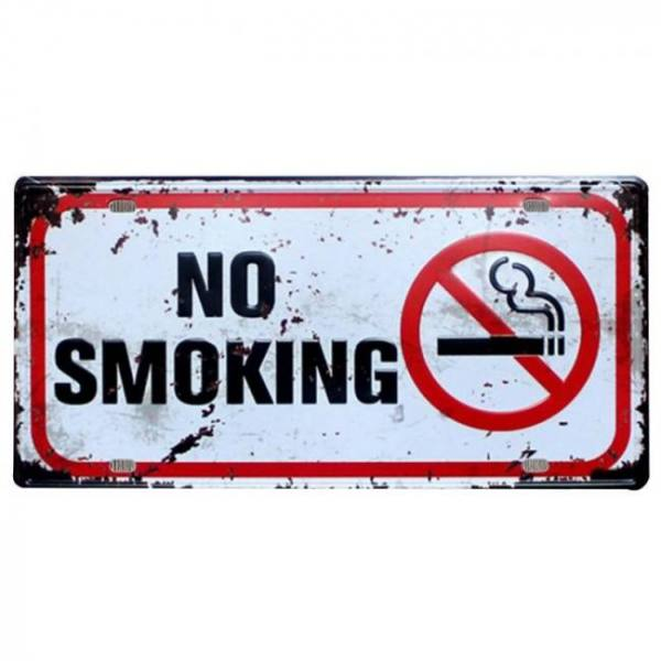 Notice no photos or video smoking metal poster beware of free wifi tin signs vintage home wall decoration license plate yn071