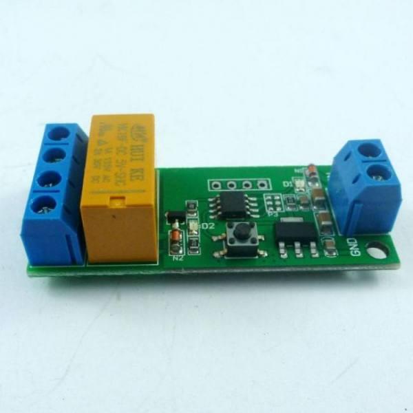 5v~12v dc motor reverse polarity cyclic timer switch time repeater delay relay