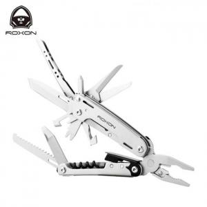 Roxon 16 in 1 s801s updated blade cutter combination pliers multi functional pliers,folding edc hand tool knife tool