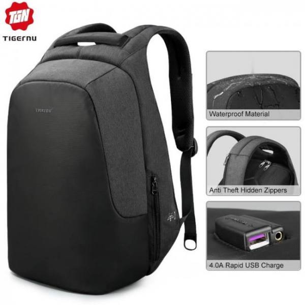 Anti theft water repellent 15.6 inch usb charging causal men backpacks school bag backpack female male  for teenagers girls boy