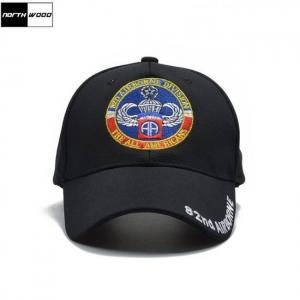 [northwood] brand 82nd airborne tactical cap new high quality army baseball cap men women snapback casquette homme pattern hat
