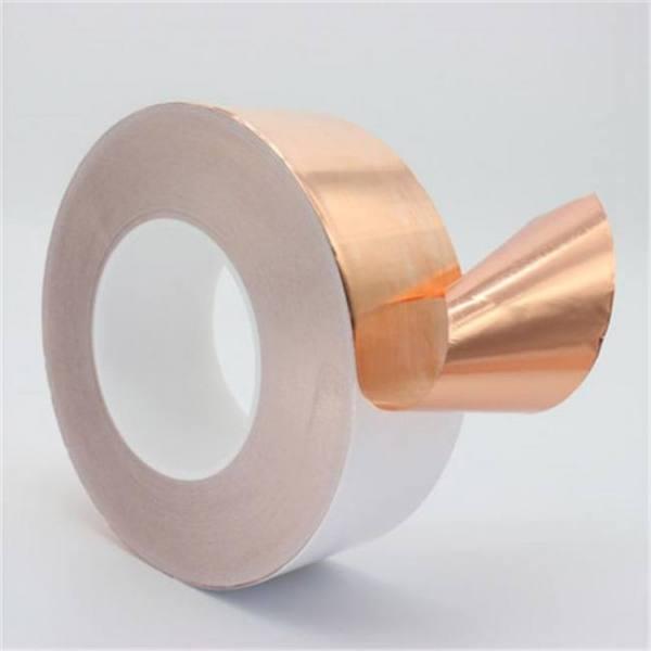 50mm x 30m single conductive copper foil tape copper strip high temperature resistant tape masking tape