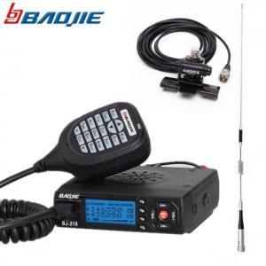Baijie bj-218 voiture mini émetteur-récepteur radio mobile double bande vhf/uhf bj 218 vericle autoradio 10 km soeur kt8900 kt-8900r uv-25hx