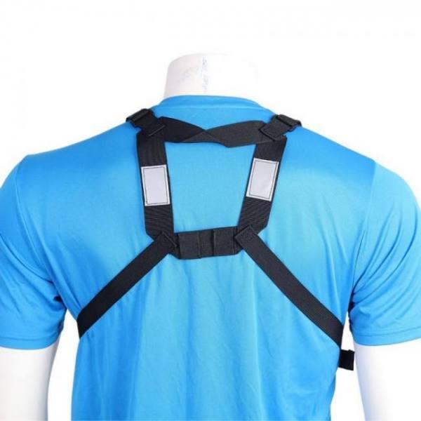 Abbree radio carry case chest harness pocket bag holster for baofeng uv-5r uv-82 uv-9r tyt th-uv8000d yaesu walkie tal