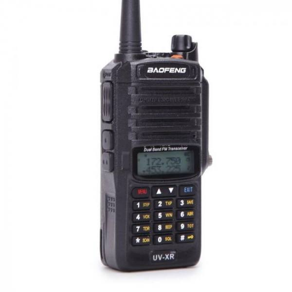 Baofeng uv-xr 10 w 4800 mah batterie ip67 étanche cb portable deux voies radio ensemble tenu dans la main 10 km longue portée puissant talkie-walkie
