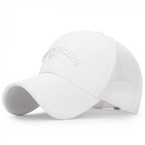 [northwood] brooklyn letter baseball cap for men women summer mesh cap bone masculino trucker cap summer mesh dad hat