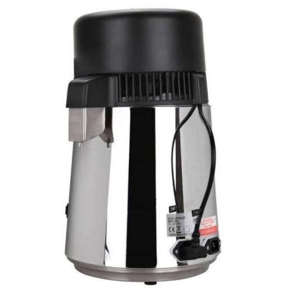 Yonntech 4l water distiller stainless steel pure water purifier filter with jar 220v