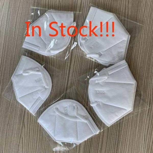 10/20/50/100 pcs kn95 mouth masks anti-dust/bacterium respirator protective breathable 95% filter garde as n95 ffp2 face masks