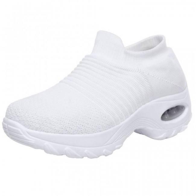 2019 women sneakers vulcanized shoes sneakers women slip on flat shoes women plus size walking buffer cushion women shoes #805