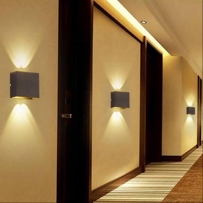 6W LED Simple Energy Saving Side Bedroom Living Room Hallway Staircase Porch Decorative Wall Light | Sadoun Sales International