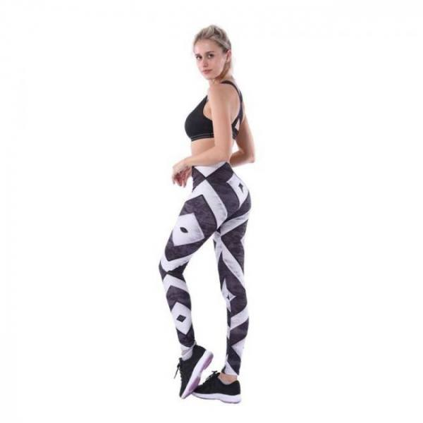 New pocket high waist solid sport gym tights plus size squat proof hip up yoga fitness leggings top quality nylon workout pant