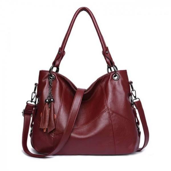 High quality  genuine leather tassel luxury handbag women bags designer handbags ladies crossbody hand tote bags for women
