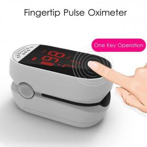 Medical digital finger pulse oximeter blood oxygen heart rate meter spo2 de pulso dedo saturation pi household digital monitor