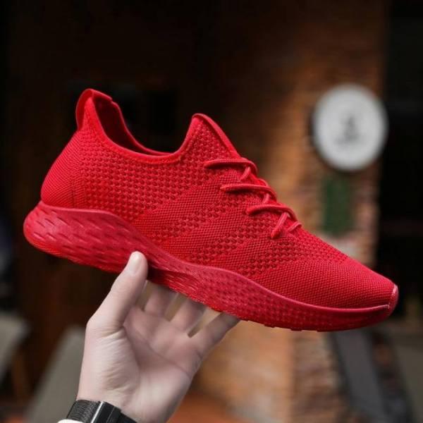 Classic unisex sneakers fashion mesh breathable men's casual shoes outdoor walking jogging shoes zapatillas hombre size 49