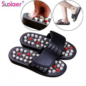 1 pair reflexology sandals foot massager slippers acupuncture therapy acupuncture shoes dropshipping
