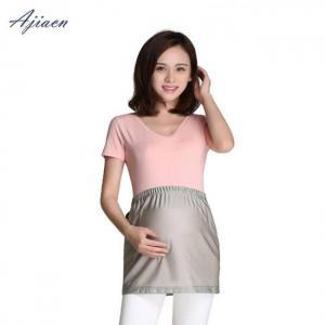 Recommend electromagnetic radiation protective pregnant women nursing wear emf shielding 100% silver fiber apron