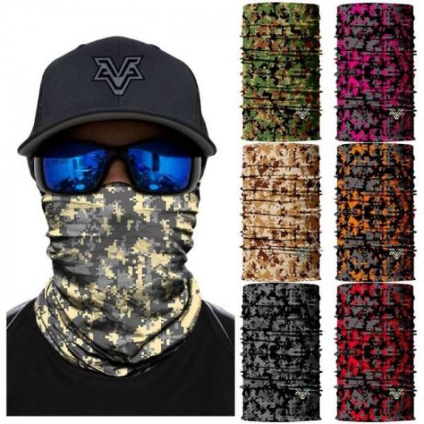 3d seamless bandana camouflage leopard multifunctional headband cycling camo military headscarf neck warmer hiking ski face mask