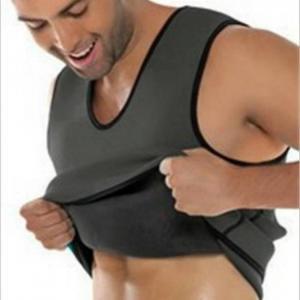 Sweat sauna body shaper men slimmi