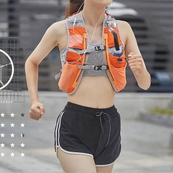 Outdoor running vest quick-dry bre
