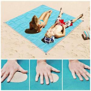 Beach mat magic sand beach mat bla