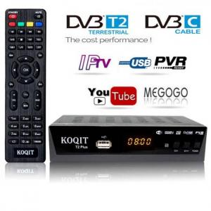 Hd dvb-c dvb-t2 tuner digital rece