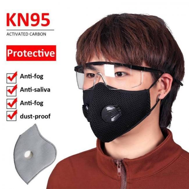5pcs cycling masks anti dust pollu