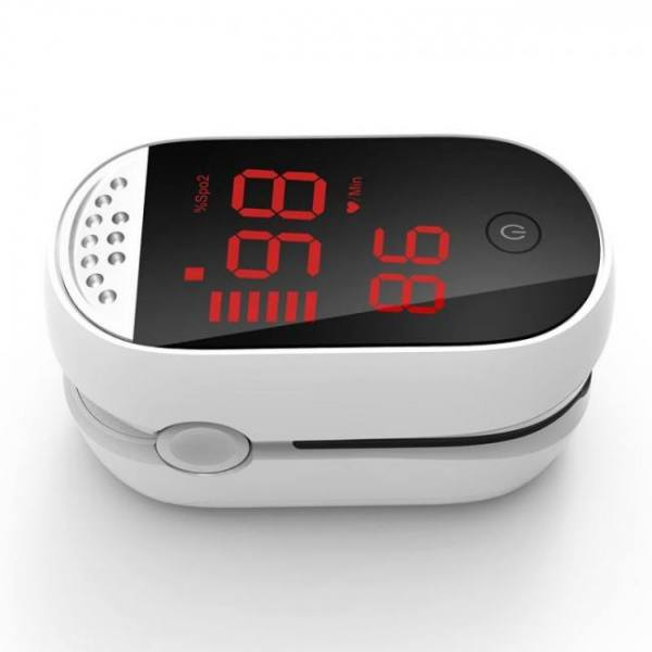 Medical digital finger pulse oximeter blood oxygen heart rate meter spo2 de pulso dedo saturation pi household digital monitor