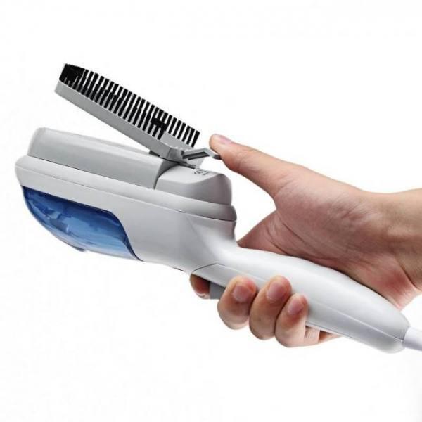 Portable 110v 800w travel handheld iron steamer garment steam brush hand held household garment ironing for clothe underwear