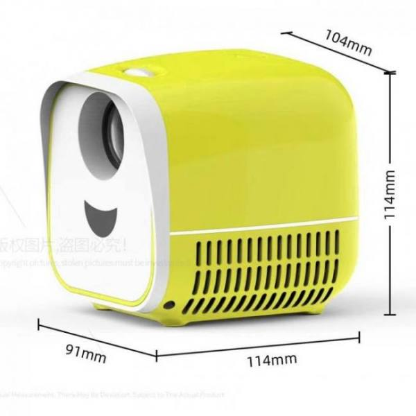 Super mini projector l1   usb led