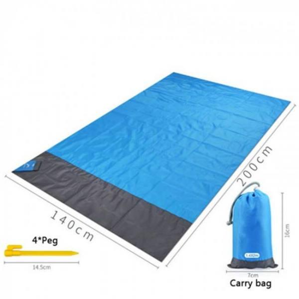 Waterproof beach towel blanket poc