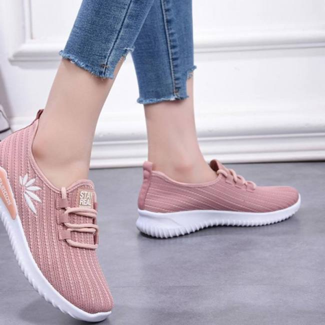 Woman Outdoor Lace Up Casual Leisure