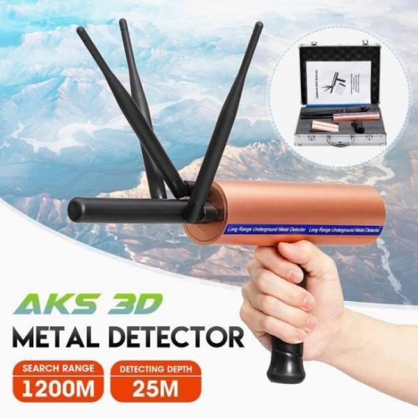 Newest aks 3d detective metal dete