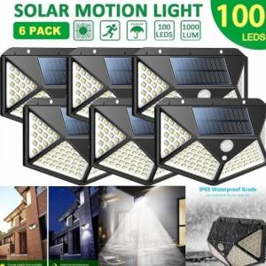 Solar lights outdoor 100 led brigh