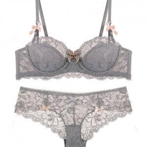 Girl sexy lace push up underwear b