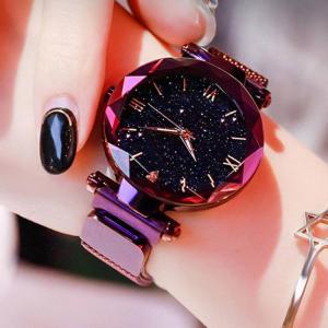 Reloj mujer luxury starry sky wome