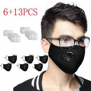 6pcs face cover + 13pcs replacemen