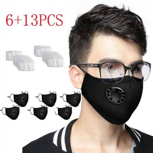 6pcs face cover + 13pcs replacemen