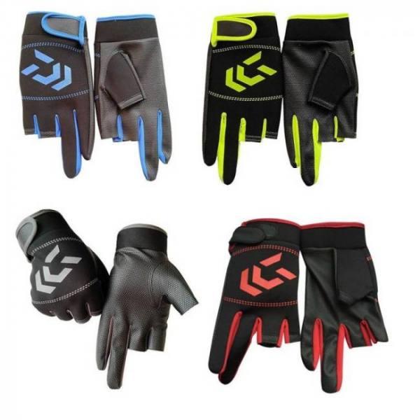 1 pair fishing gloves men women ou