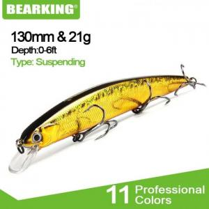 Bearking for artificial fishing lu