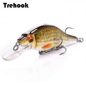 Trehook 4g/11g/22g black minnow wo