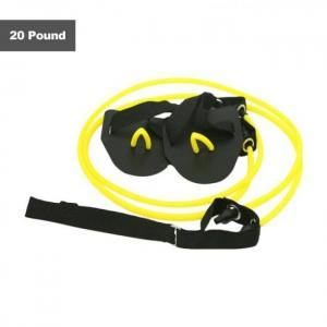 Fitness resistance belt swimming a