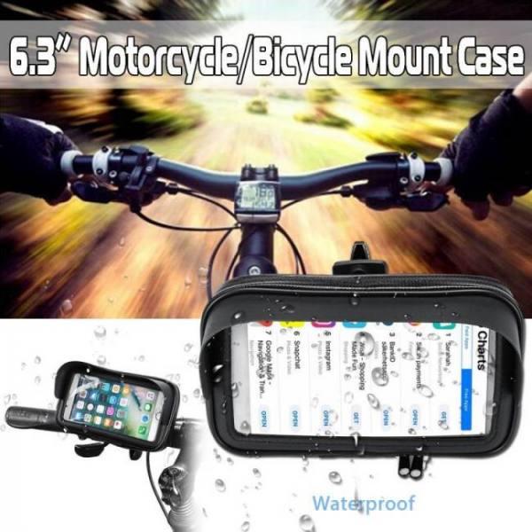 6.3 inch waterproof bike bicycle m