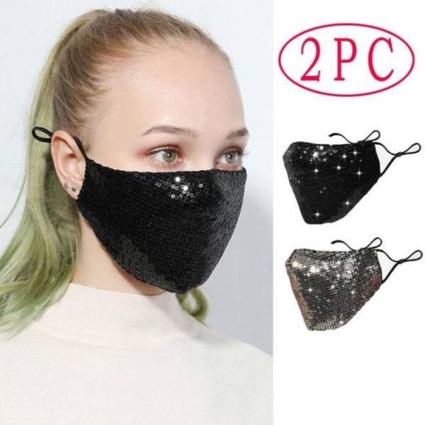 2pc pm2.5 outdoor washable reuse f