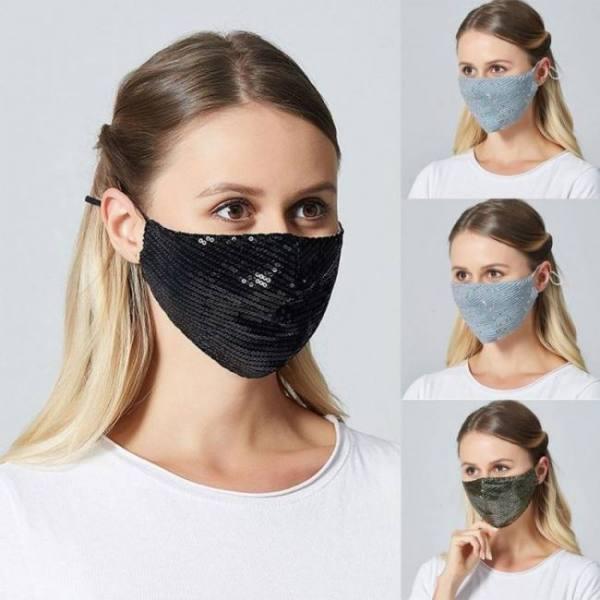 Sequin dust anti pollution respira
