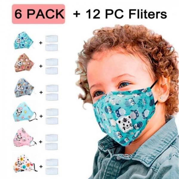 3pcs washable kids reusable cute c
