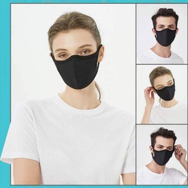 3/6 pcs face care cover windproof