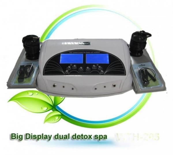 Dual ionic cleanse detox foot spa machine